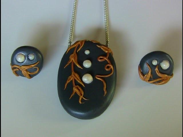 Polymer Clay. Fimo Schmuck und Perlen