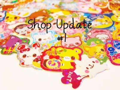 Shop Update #1: Oyumaru & Sticker Flakes | Anielas Fimo