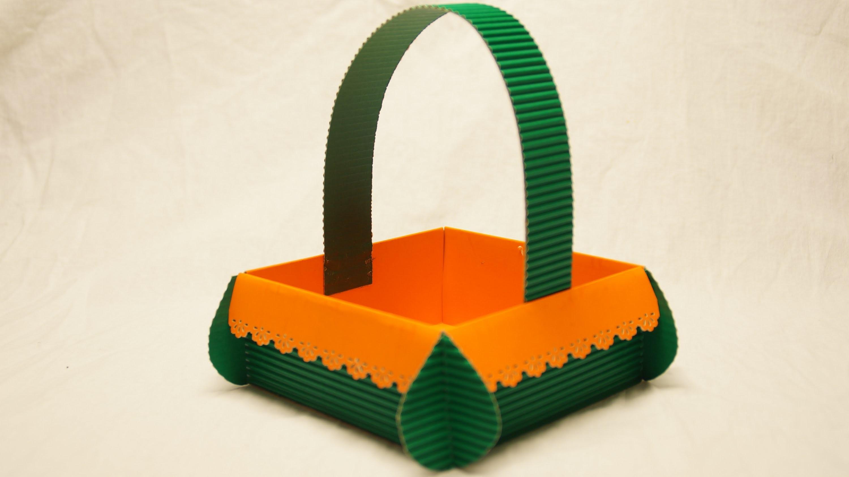 Anleitung - Osterkorb basteln - Easter Basket- Easter Crafts