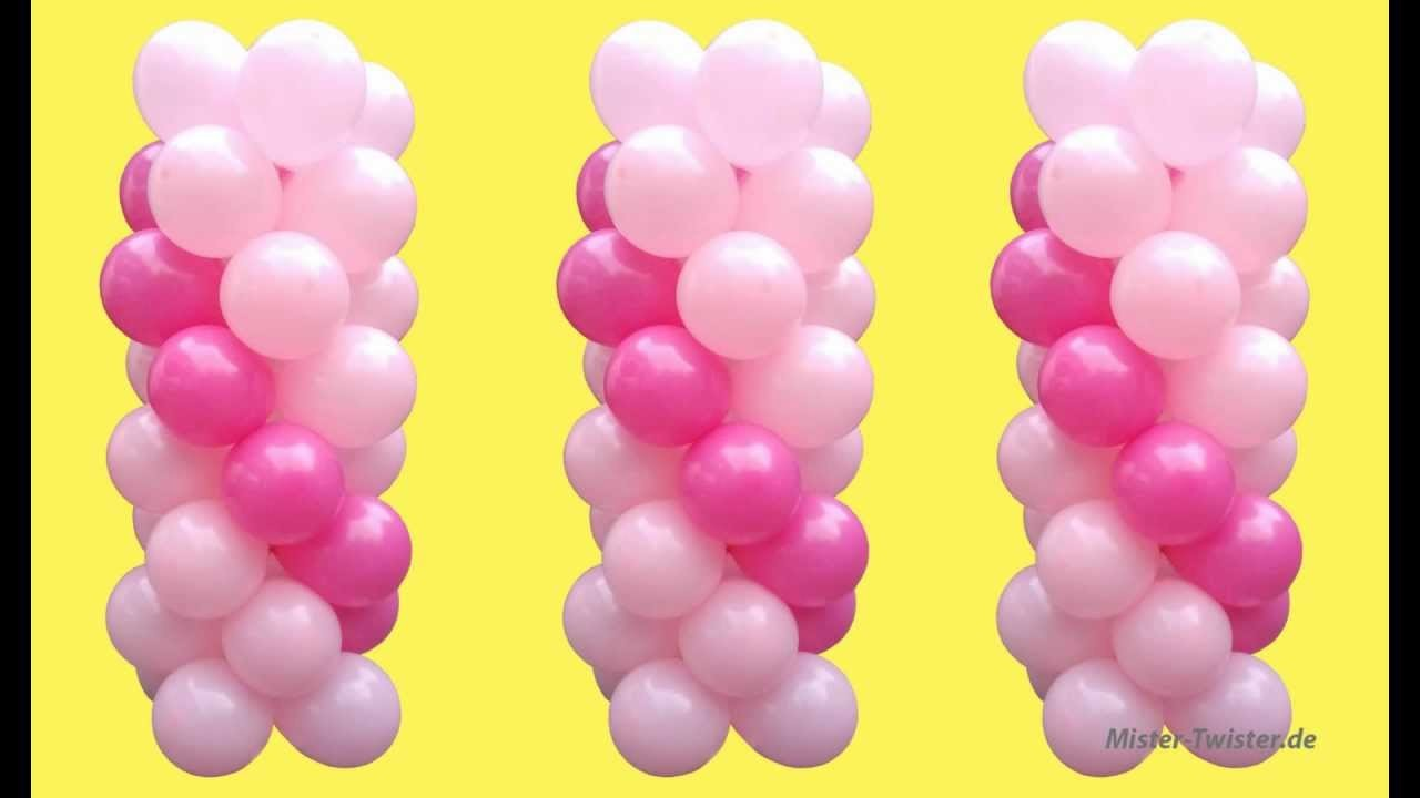 Ballondekoration, balloon decoration, Ballonständer, balloon Stands