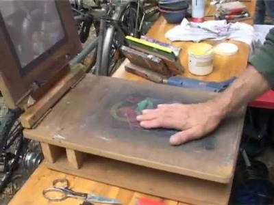 Bauanleitung DIY-Siebdruckgerät