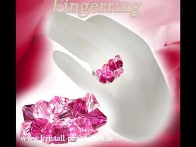 Besonders Edel! Schmuck mit Swarovski Perlen (Halsschmuck, Armkette, Fingerring, Ohrring, Fußkette)