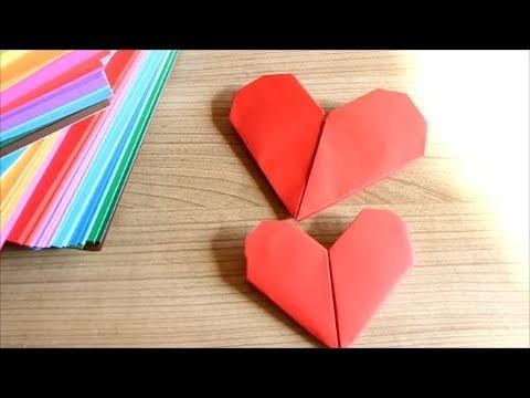 [DIY mit Mel]  Origami Herz falten