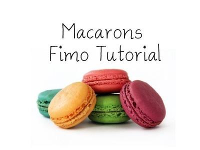 [Fimo] Macarons Fimo Tutorial. Macarons Polymer Clay Tutorial | Anielas Fimo