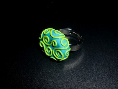 FIMO Ring: Schmuckset Funny Beads - Review.Tutorial [HD.deutsch]