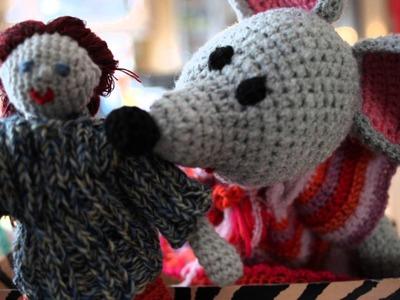 Häkeln - Crochet - Puppe und Maus