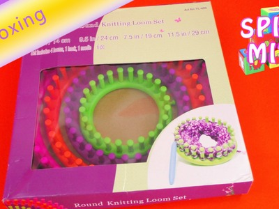 Knitting Loom. Strickring. Strickrahmen Unboxing & Review Mützen. Schals machen | deutsch