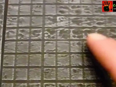 Let´s Craft #28 - Bau-Tutorial modularer Straßen für Warhammer und andere Tabletops
