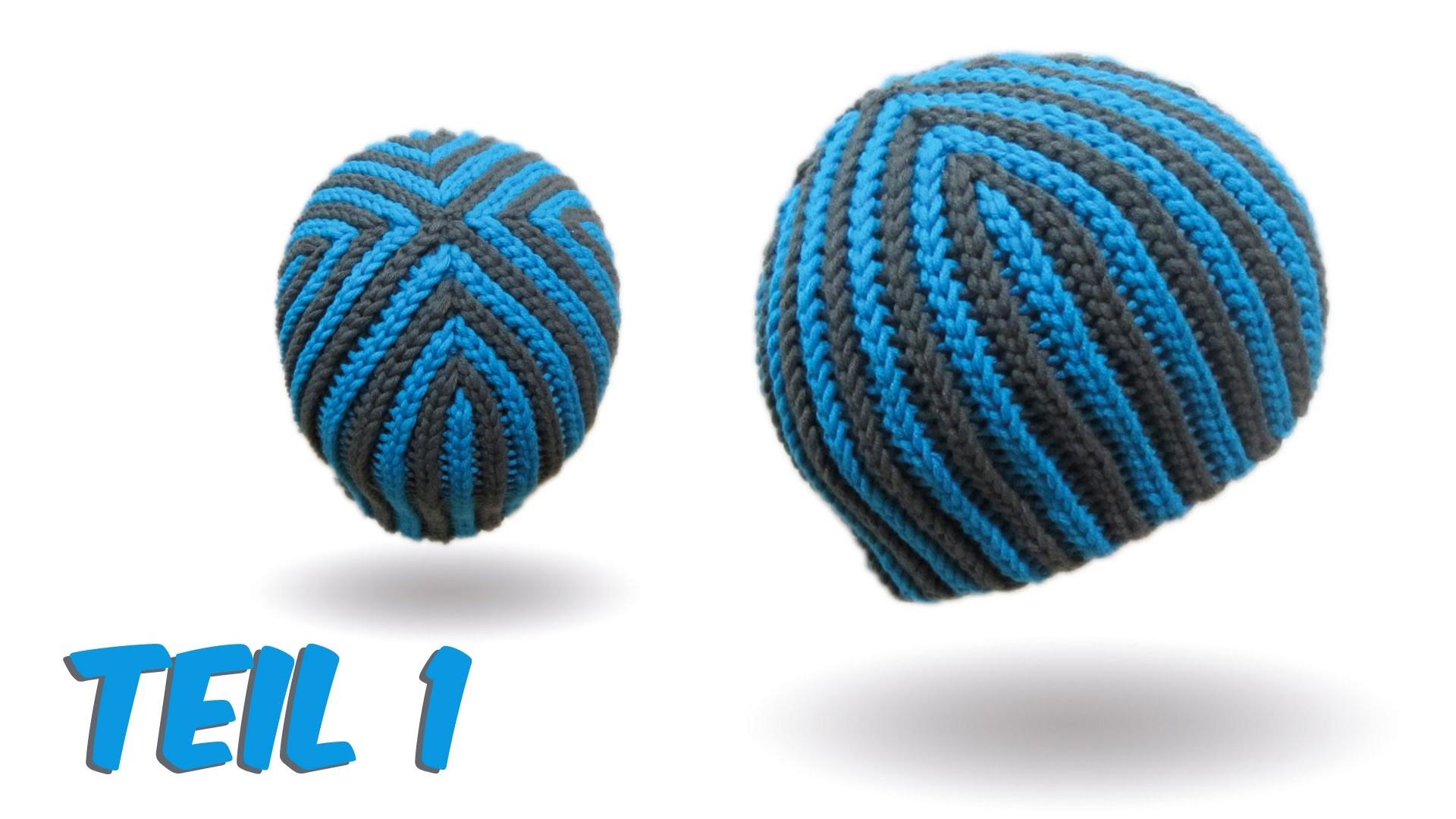 Mütze bosnisch häkeln - Hazelnut Beanie Teil 1 - Kettmaschen häkeln