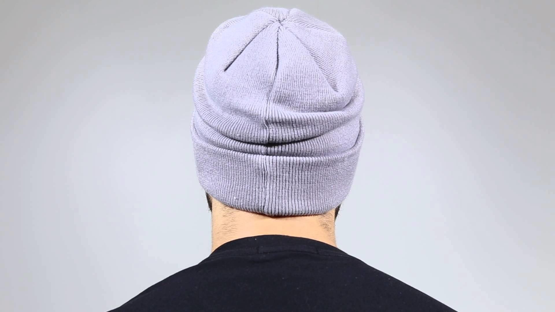 New Era Mützen - NE Original Basic Cuff Knit 3 grey - Men