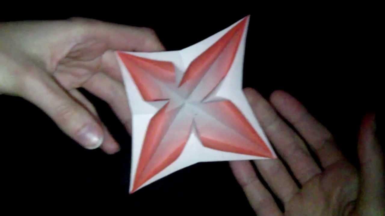 Origami 3D Popup: Tutorial #52