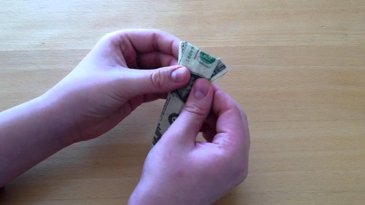 Origami: Geldscheine falten
