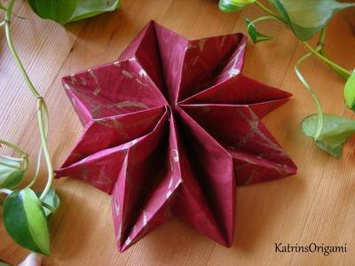 Origami ✱ Star ✱ ( Napkin )
