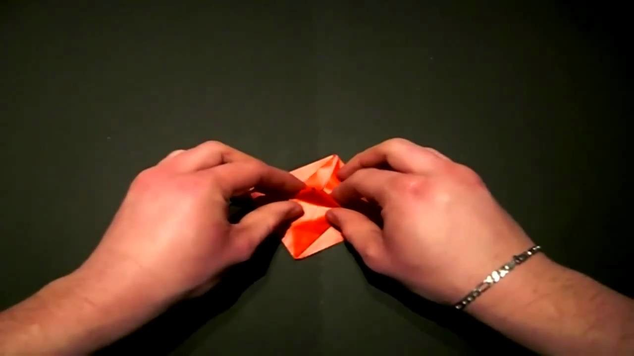 Origami: The beating Heart - Das pochende Herz. Tutorial. HD   !!DieAllesFilmer!!
