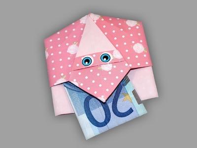 Origami Umschlag Nikolaus (Santa) - Faltanleitung (Live erklärt)