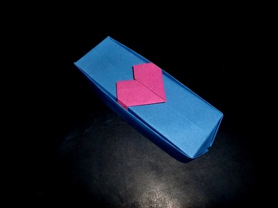 Origami Valentinsbox für Verliebte: Hearth-Box - Tutorial [HD.deutsch]