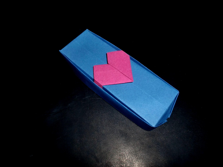 Origami Valentinsbox für Verliebte: Hearth-Box - Tutorial [HD.deutsch]