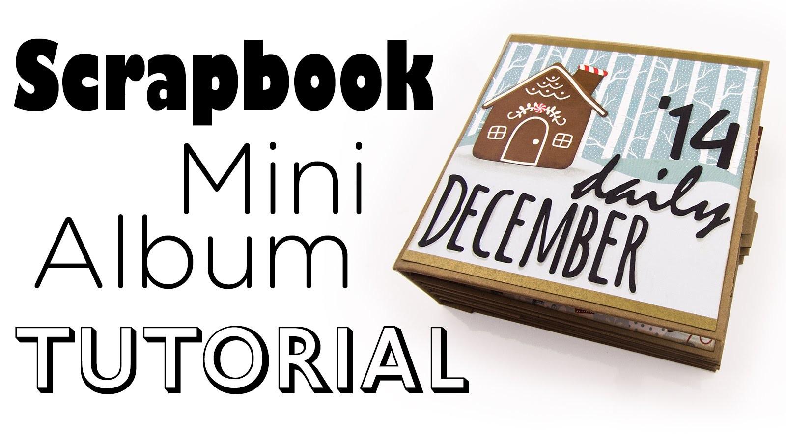 [Scrapbook Mini-Album Tutorial] December Daily Art Journal | DEUTSCH
