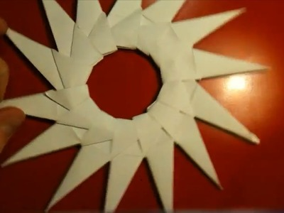Anleitung: Modulares Origami - Stern falten