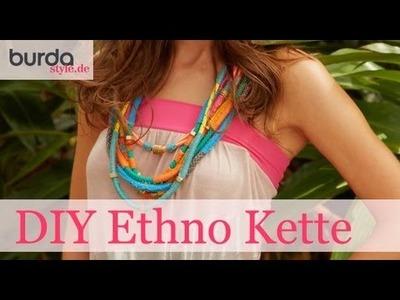 Burda style – Schmuck: DIY Ethno Kette