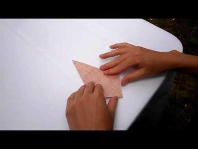 Dank des Kranichs - Die Origami-Faltanleitung