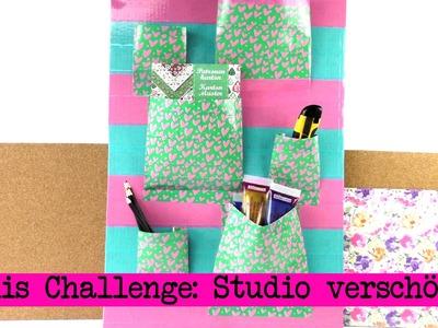 DIY Inspiration Challenge #13 Studio verschönern | Kathis Challenge | Tutorial Aufbewahrung