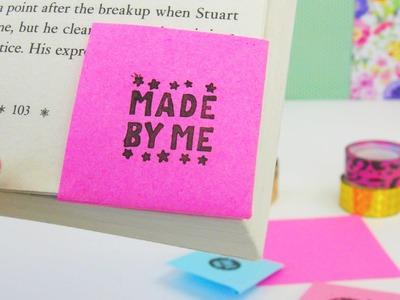 DIY Lesezeichen | Origami Lesezeichen schnell und einfach! Paper Tutorial Folding DIY | deutsch