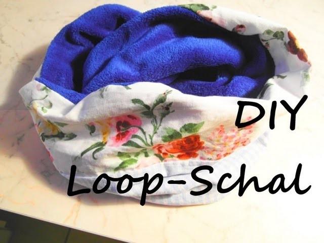 [DIY] Loop-Schal (Schlauchschal) selber nähen - [DIY Infinity Scarf.Loop Scarf]