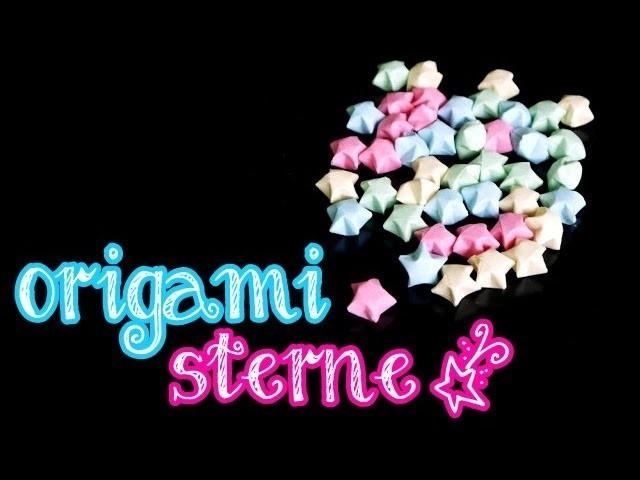 DIY: Origami Sterne