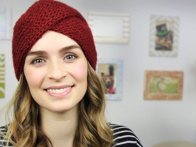 |DIY| Strick-Turban - Strickmütze - Beanie - Winter