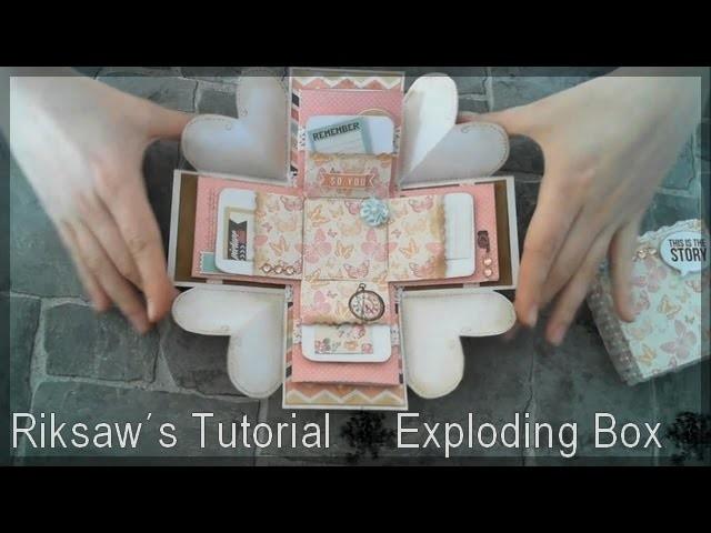 DIY [Tutorial #1] Exploding Box