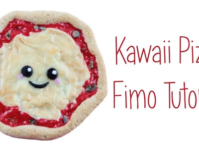 [Fimo Friday] Kawaii Pizza Fimo Tutorial. Kawaii Pizza polymer clay tutorial  | Anielas Fimo