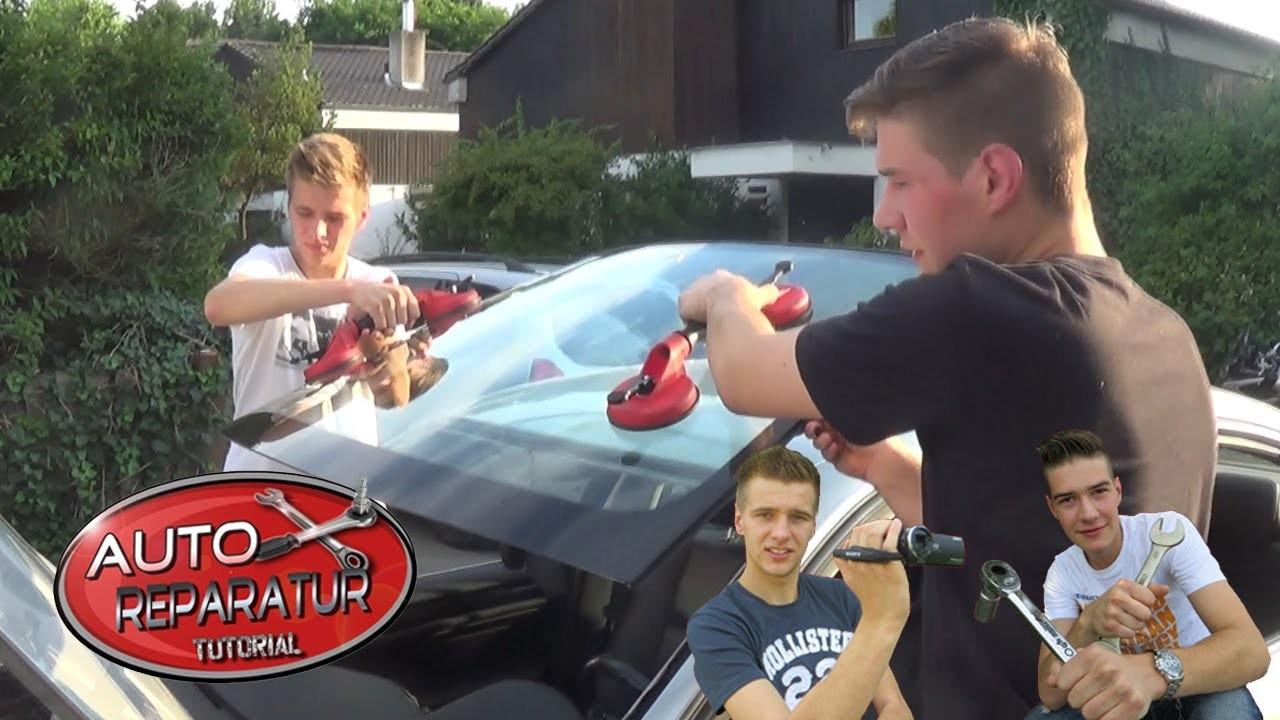 Frontscheibe Windschutzscheibe selber wechseln [Tutorial] HD windshield windscreen DIY replacement