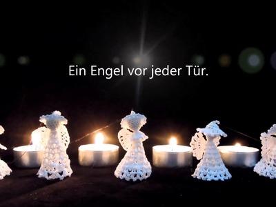 Gehäkelte Engel zum Advent