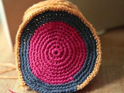Häkeln - Crochet - Mochilas - Beutel häkeln - 1
