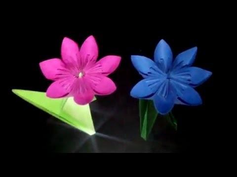 Kusudama-Blüte Origami: Faltanleitung [HD]
