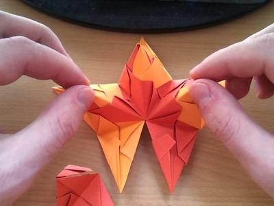 Let's Bastel #001 [Deutsch,HD] - Der Origami Brascetta Stern (Tutorial)