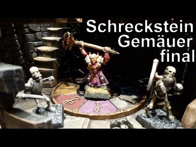 Lets craft # 56 Warhammer Schreckstein Gemäuer Bemalung 2