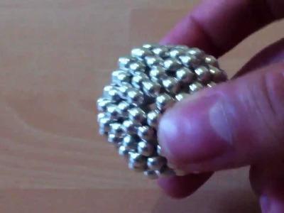 NEODYM Magnet Würfel Buckyballs Neodymium Balls Cube How to Anleitung einen Ball machen