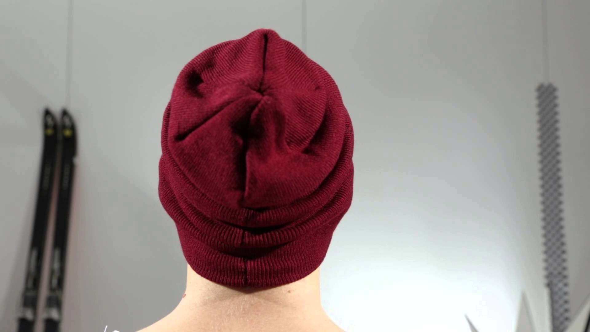 New Era Mützen - NE Original Basic Long Knit cardinal - Men