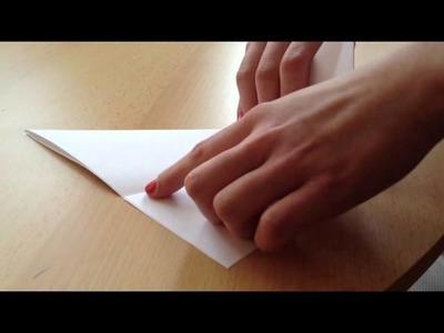Origami Becher falten - Papiergefäß basteln