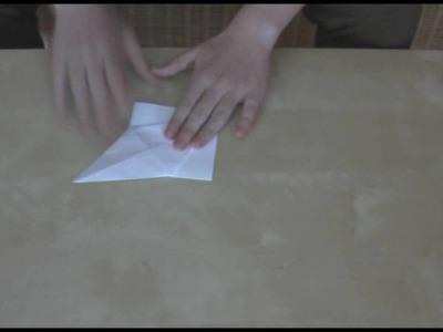 Origami - Der Kranich VideoFaltanleitung