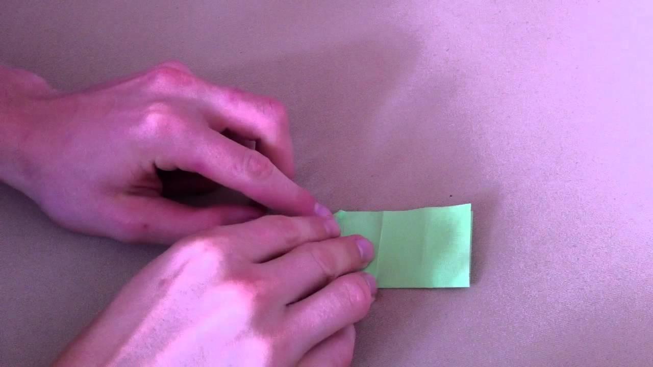 Origami Klavier selber basteln - Bastelanleitung