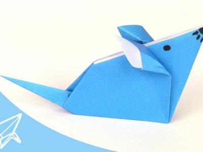 Origami Maus - Faltanleitung