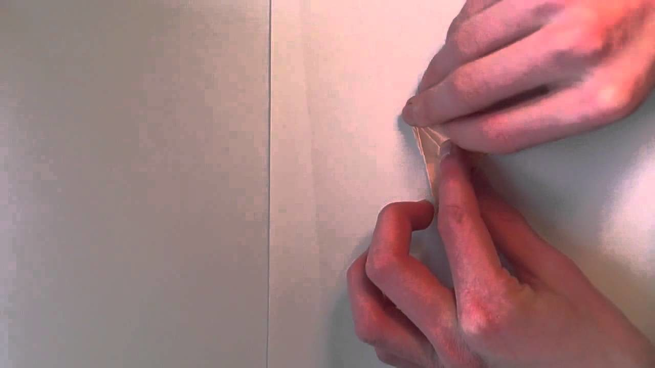 Origami:  Rose oder Blume basteln
