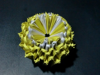 "Origami Zitrone ""Tutti Frutti"": Faltanleitung [HD.deutsch]"