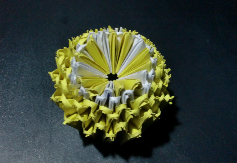 Origami Zitrone