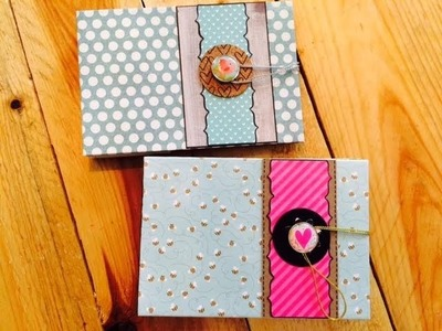 Scrapbook ---Mini-Album---Urlaubsreise ---DIY---[tutorial]
