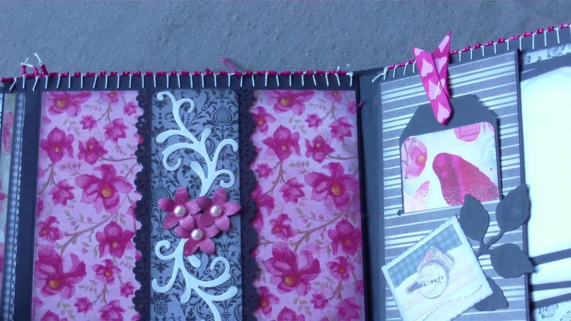 """Scrapbook Fotoalbum """"Pink Pearl"""""""