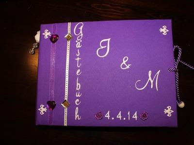 Scrapbook Gästebuch